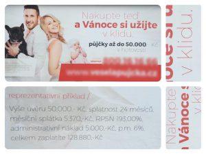 Nabídka půjčky RPSN